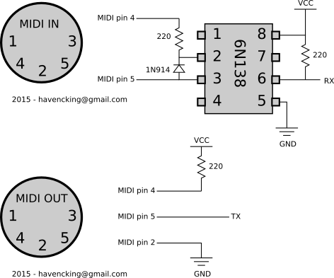 Learning more about MIDI and Arduino – Sonoclast